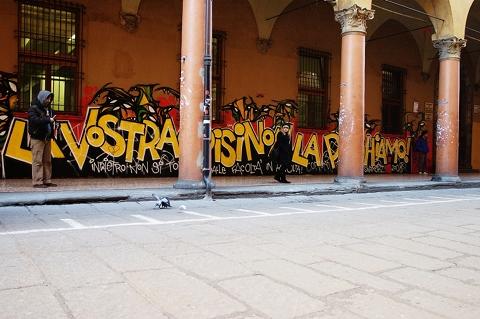 Teie kriisi me ei maksa, Bologna, Emilia-Romagna, 2008 (Autor: Oudekki)